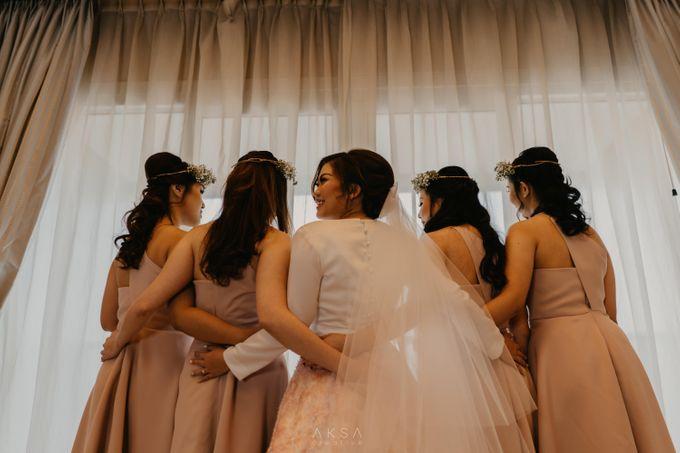 Fredy & Inge Wedding at Soehanna Hall by MALVA Bridesmaids - 048