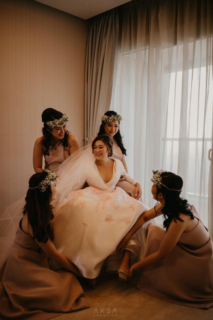 Fredy & Inge Wedding at Soehanna Hall by MALVA Bridesmaids - 016