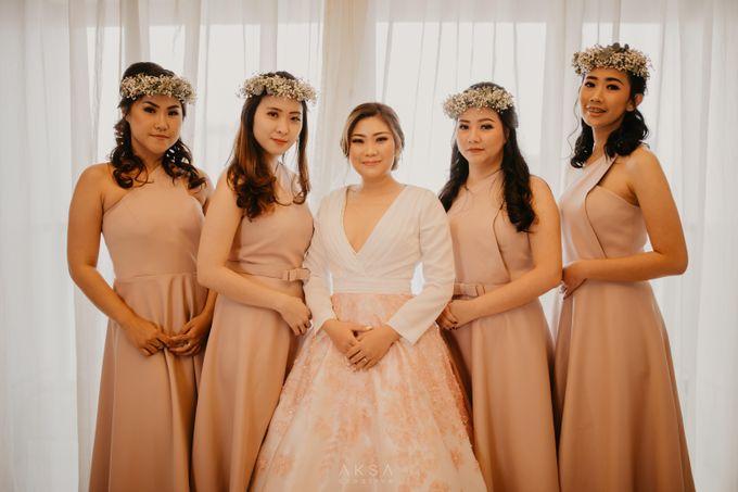 Fredy & Inge Wedding at Soehanna Hall by MALVA Bridesmaids - 018