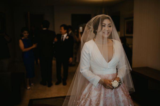 Fredy & Inge Wedding at Soehanna Hall by MALVA Bridesmaids - 019