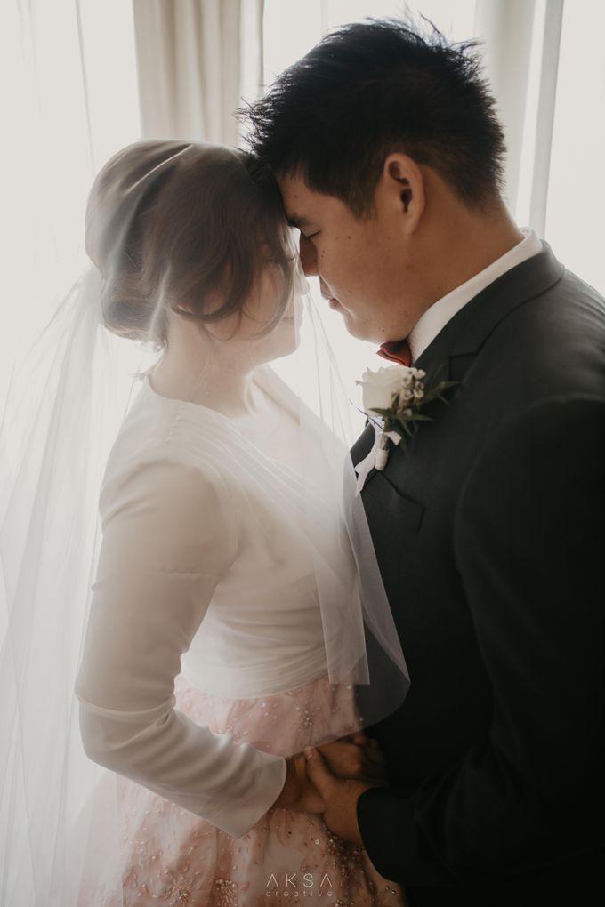 Fredy & Inge Wedding at Soehanna Hall by MALVA Bridesmaids - 028