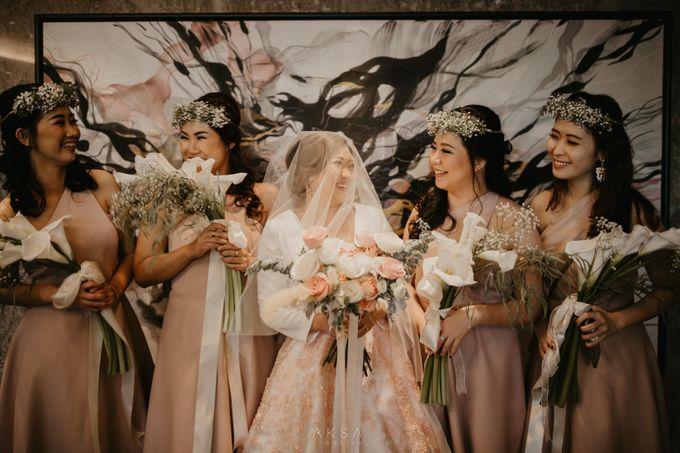 Fredy & Inge Wedding at Soehanna Hall by MALVA Bridesmaids - 032