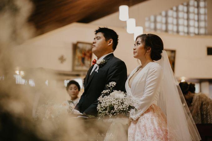 Fredy & Inge Wedding at Soehanna Hall by MALVA Bridesmaids - 034