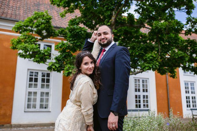 Frederiksberg Town Hall Wedding / Elopement by Ieva Vi Photo by Ieva Vi Photography - 018