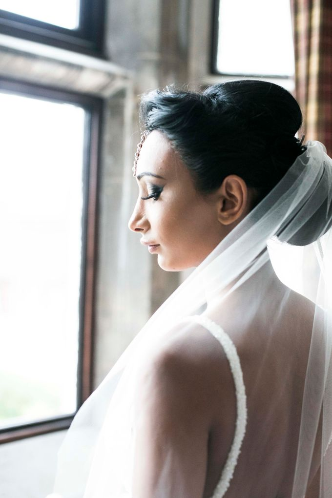 Beautiful Black and White wedding by Samie Lee photography - 050