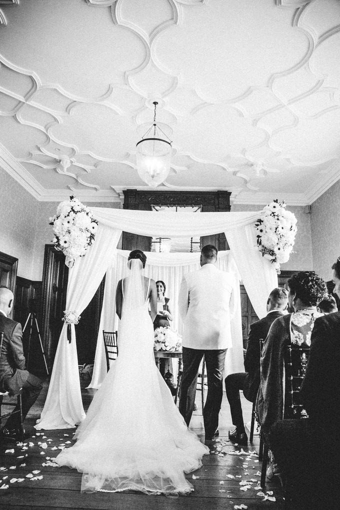 Beautiful Black and White wedding by Samie Lee photography - 007