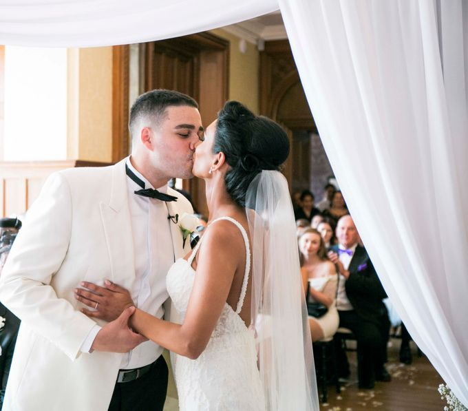 Beautiful Black and White wedding by Samie Lee photography - 008