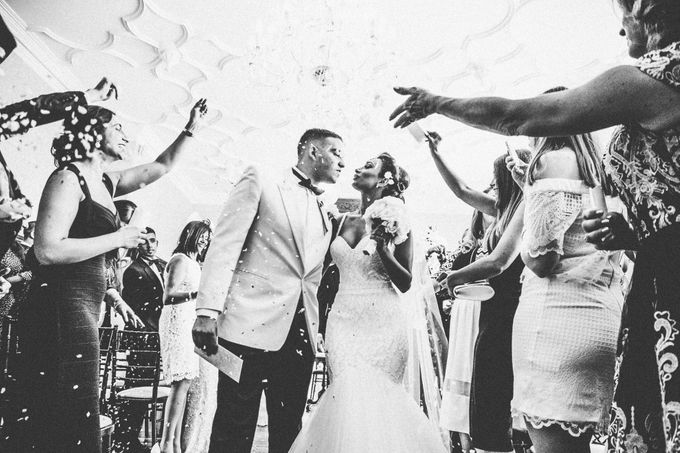 Beautiful Black and White wedding by Samie Lee photography - 009
