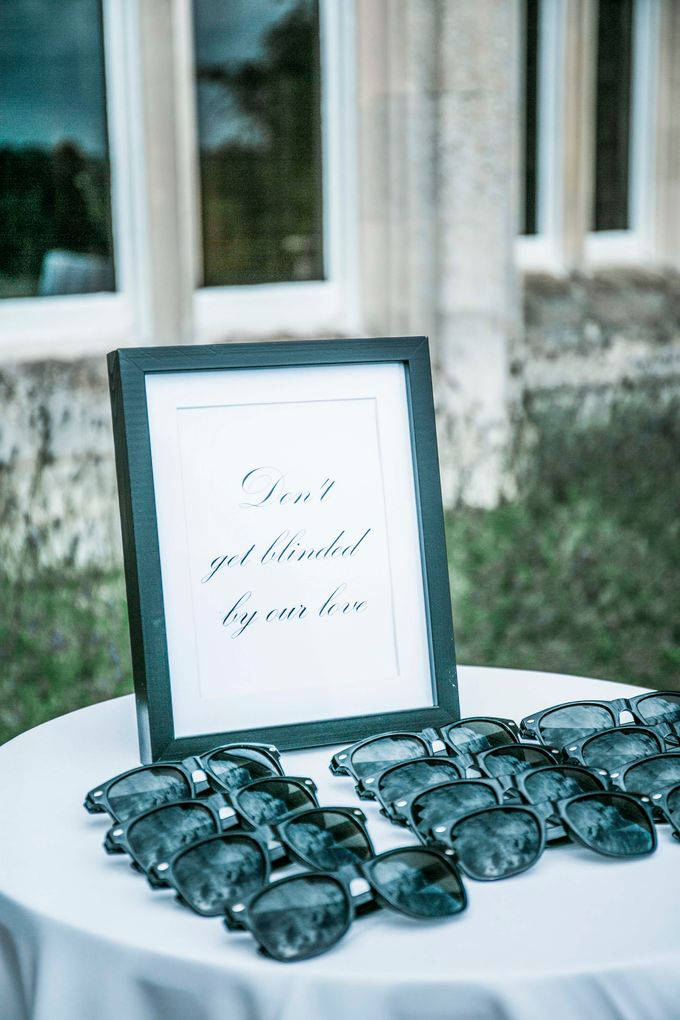 Beautiful Black and White wedding by Samie Lee photography - 010