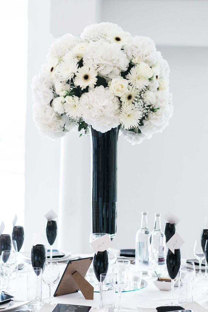 Beautiful Black and White wedding by Samie Lee photography - 014