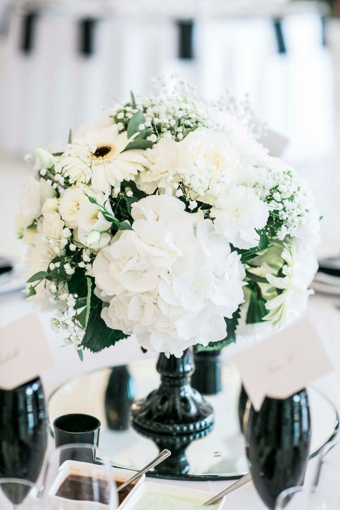 Beautiful Black and White wedding by Samie Lee photography - 015