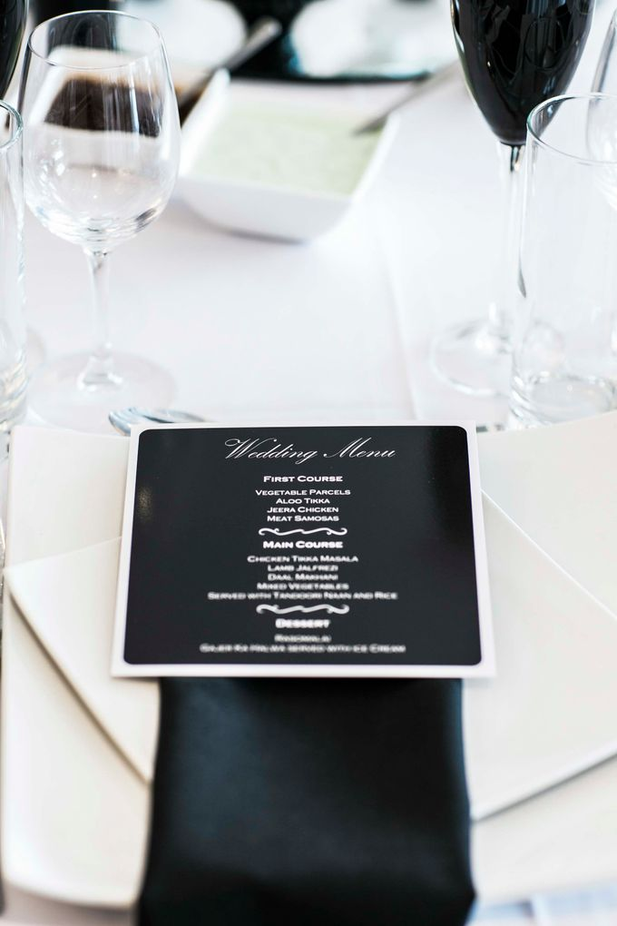 Beautiful Black and White wedding by Samie Lee photography - 016