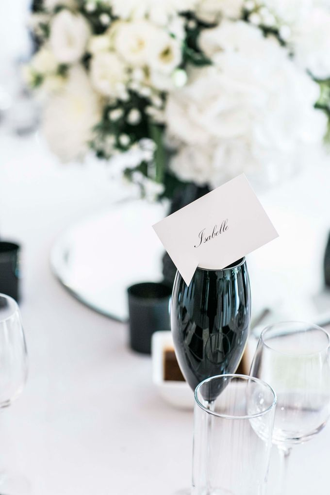 Beautiful Black and White wedding by Samie Lee photography - 017