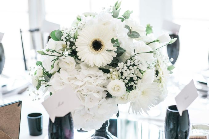 Beautiful Black and White wedding by Samie Lee photography - 020