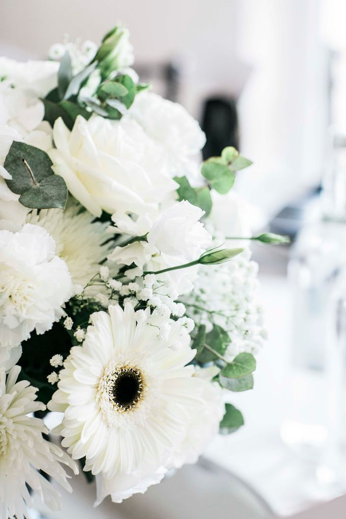 Beautiful Black and White wedding by Samie Lee photography - 021