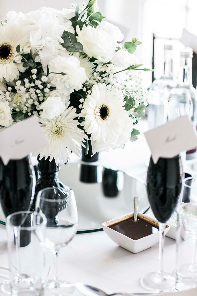 Beautiful Black and White wedding by Samie Lee photography - 022