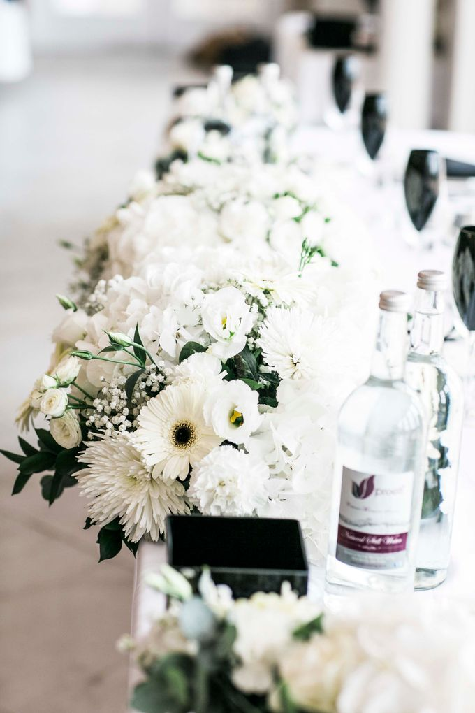 Beautiful Black and White wedding by Samie Lee photography - 024