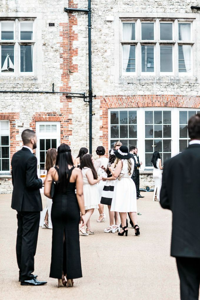 Beautiful Black and White wedding by Samie Lee photography - 025