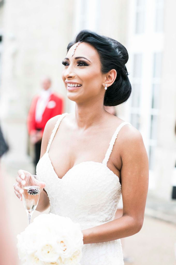 Beautiful Black and White wedding by Samie Lee photography - 027