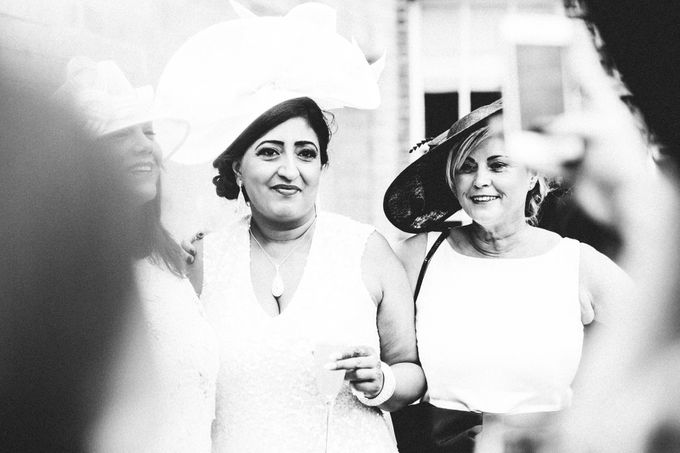Beautiful Black and White wedding by Samie Lee photography - 028