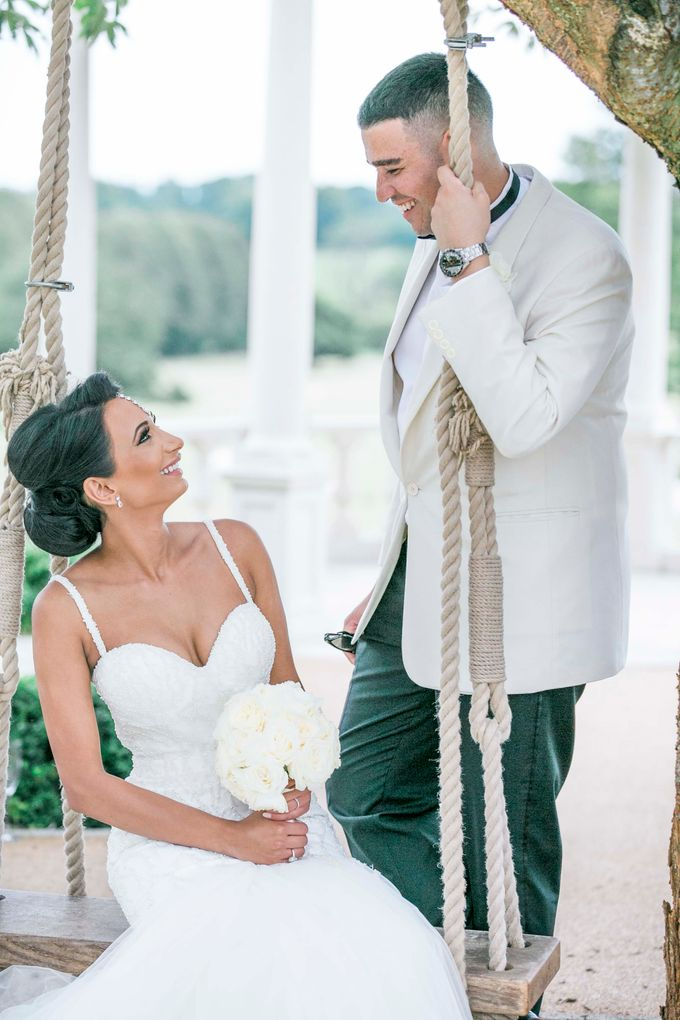 Beautiful Black and White wedding by Samie Lee photography - 002