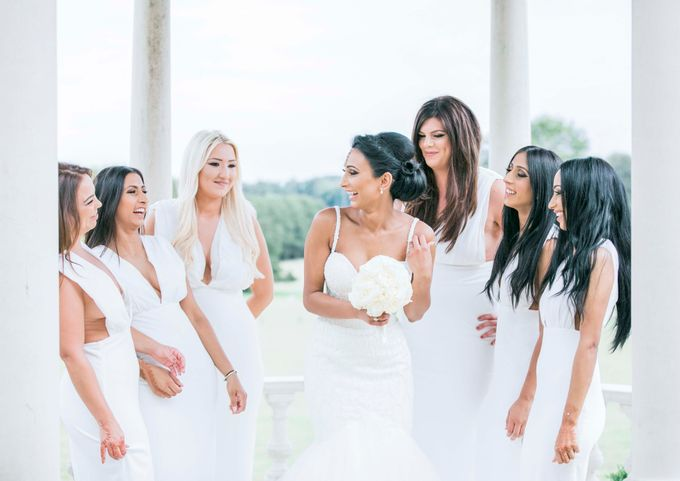 Beautiful Black and White wedding by Samie Lee photography - 029