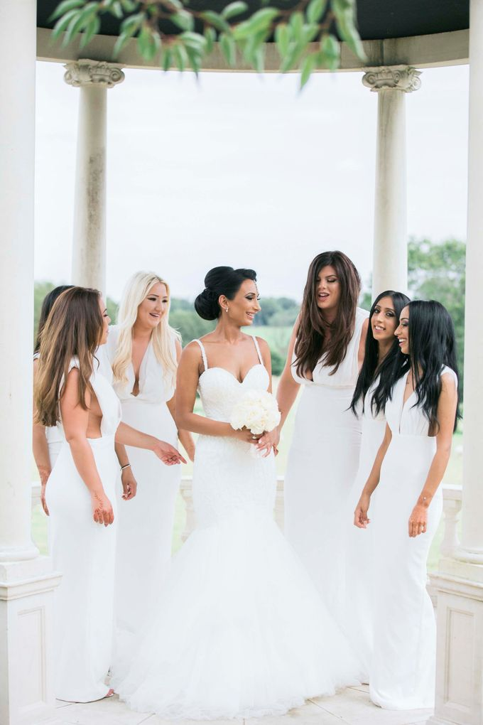 Beautiful Black and White wedding by Samie Lee photography - 030
