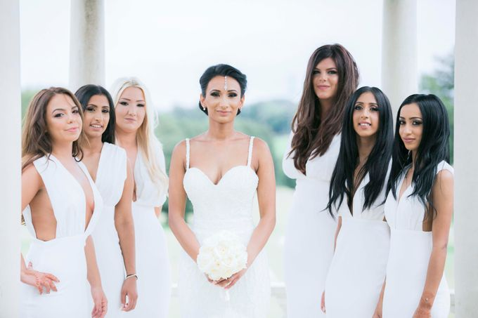 Beautiful Black and White wedding by Samie Lee photography - 031