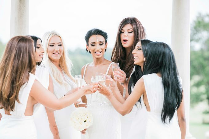 Beautiful Black and White wedding by Samie Lee photography - 032