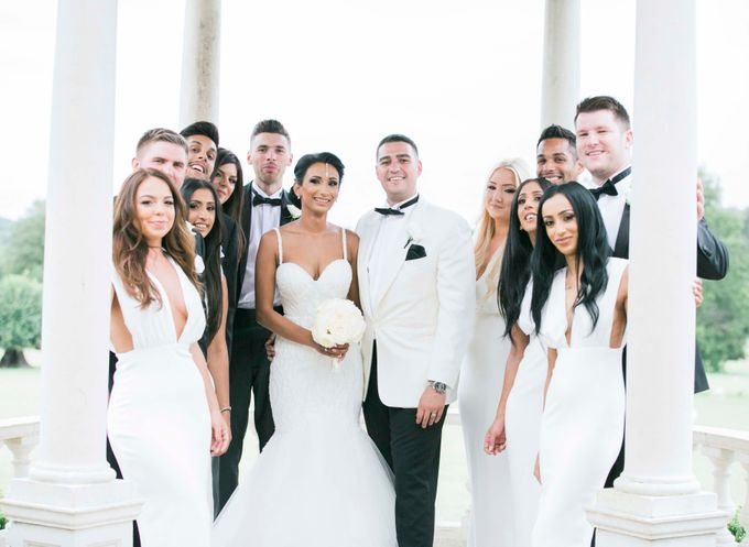 Beautiful Black and White wedding by Samie Lee photography - 033
