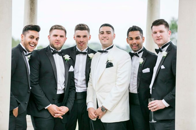 Beautiful Black and White wedding by Samie Lee photography - 036