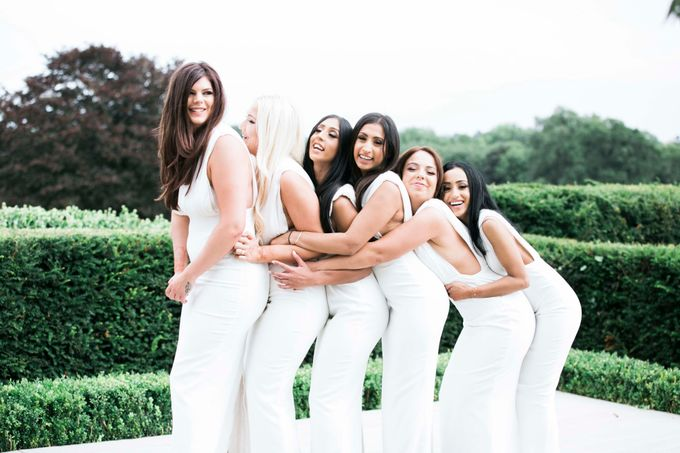 Beautiful Black and White wedding by Samie Lee photography - 037