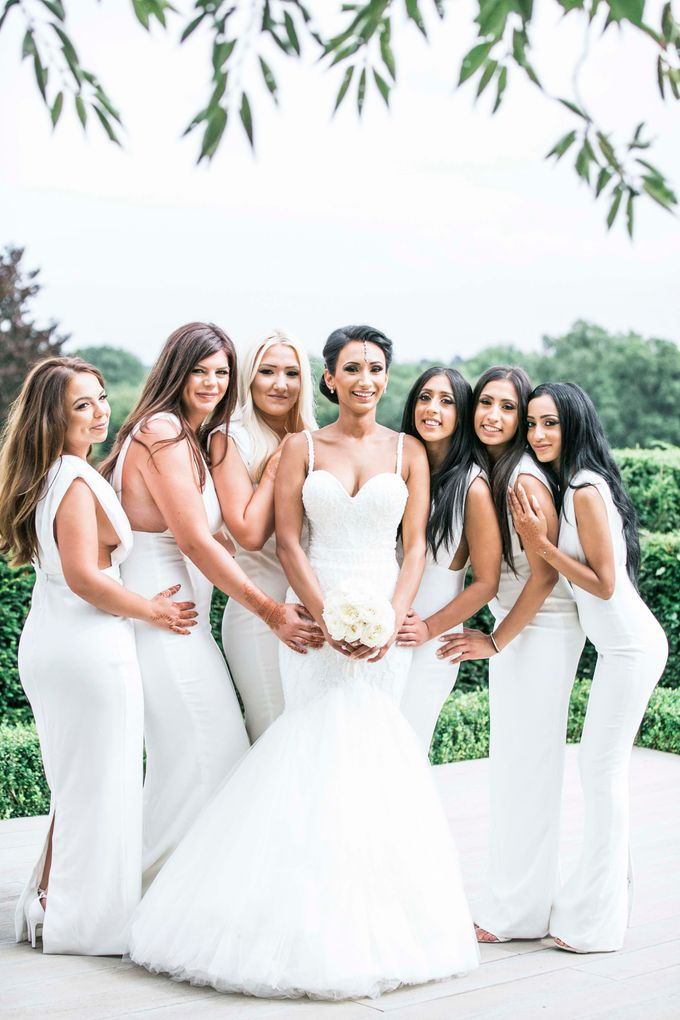 Beautiful Black and White wedding by Samie Lee photography - 038