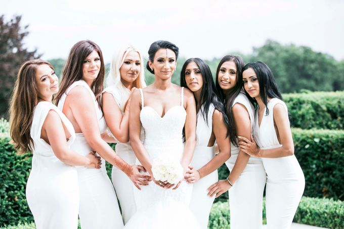 Beautiful Black and White wedding by Samie Lee photography - 039