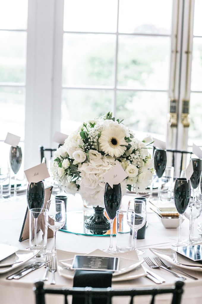 Beautiful Black and White wedding by Samie Lee photography - 040