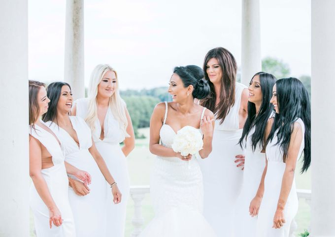 Beautiful Black and White wedding by Samie Lee photography - 003