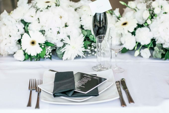 Beautiful Black and White wedding by Samie Lee photography - 042