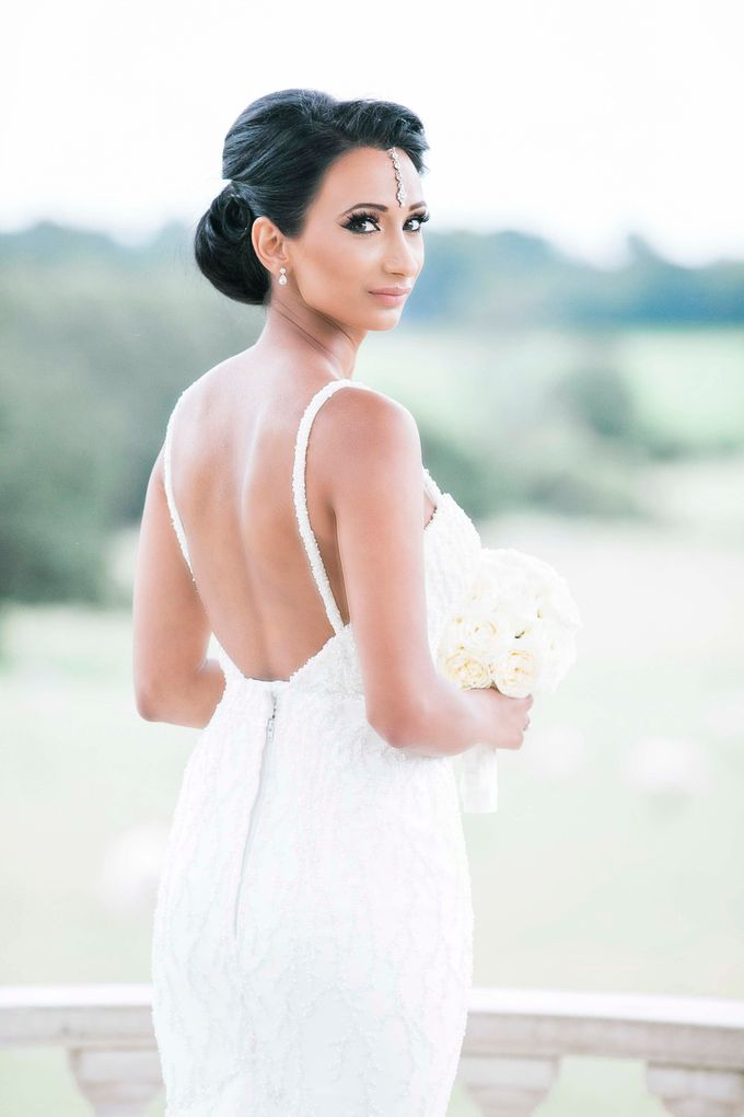Beautiful Black and White wedding by Samie Lee photography - 004