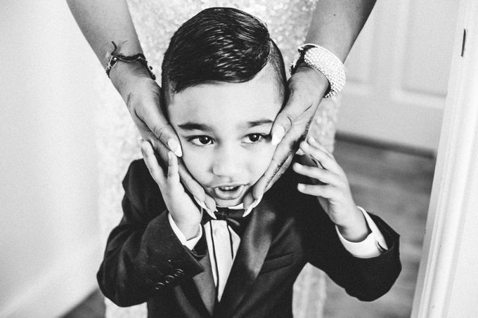 Beautiful Black and White wedding by Samie Lee photography - 046