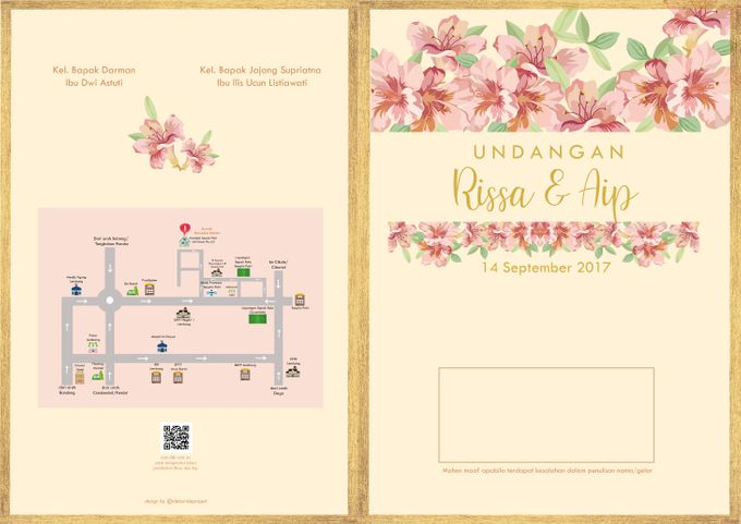 Desain Undangan Rissa dan Aip by ideberideproject - 001