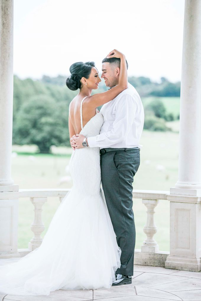 Beautiful Black and White wedding by Samie Lee photography - 001