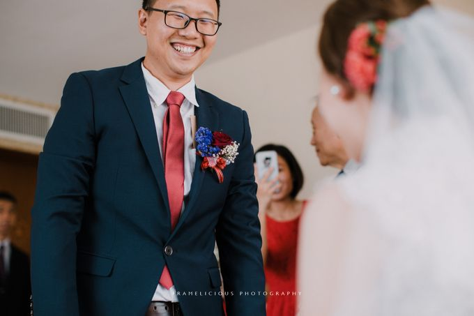 Debbie & KahWai - Wedding Photography by Framelicious Studio - 015