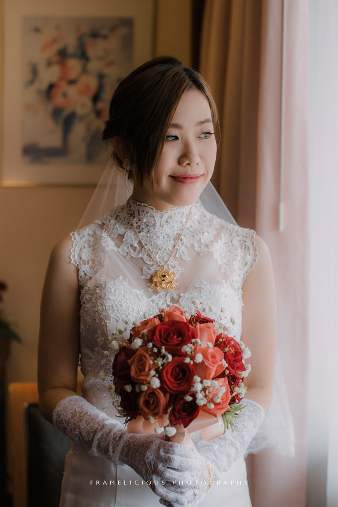 Debbie & KahWai - Wedding Photography by Framelicious Studio - 019
