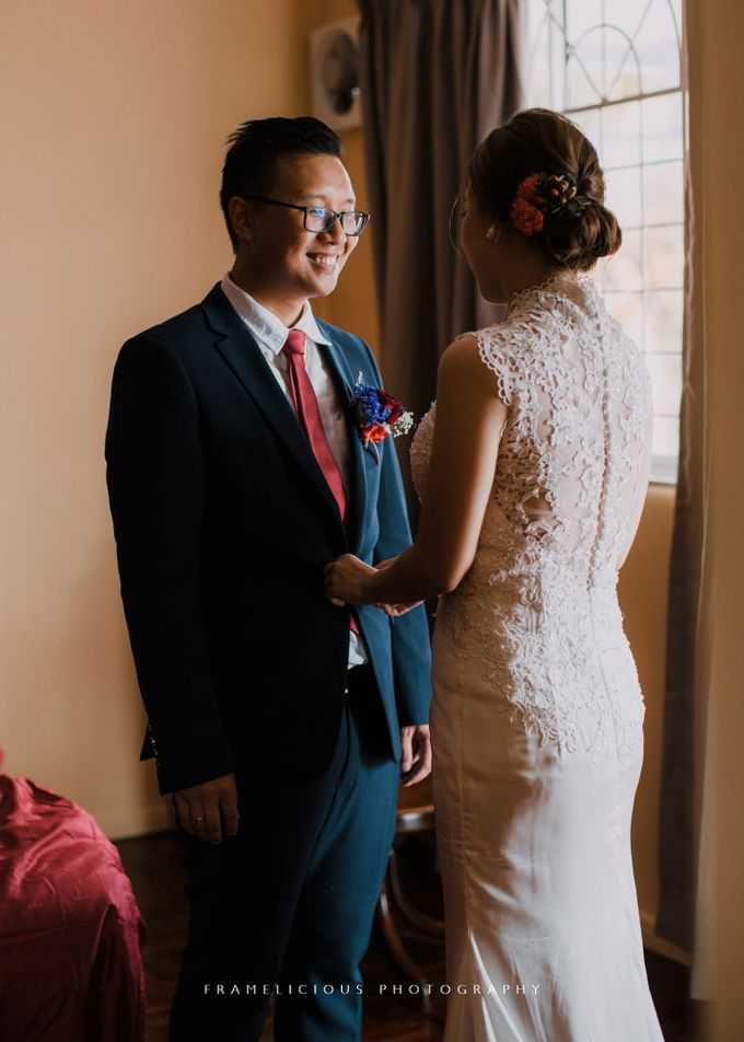 Debbie & KahWai - Wedding Photography by Framelicious Studio - 023