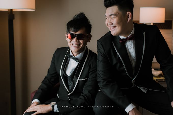 Sharon & Steven - Wedding Photography by Framelicious Studio - 009