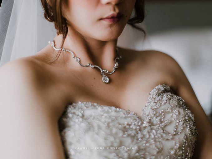 Sharon & Steven - Wedding Photography by Framelicious Studio - 010