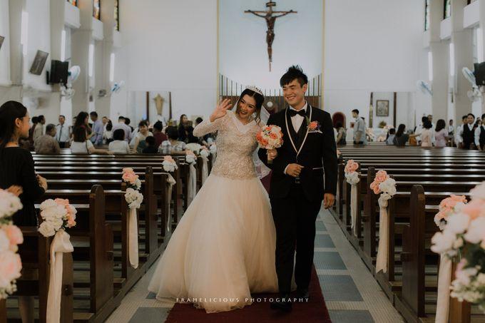 Sharon & Steven - Wedding Photography by Framelicious Studio - 018