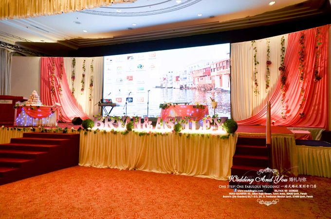 Stage Backdrop Design by Wedding And You - 021