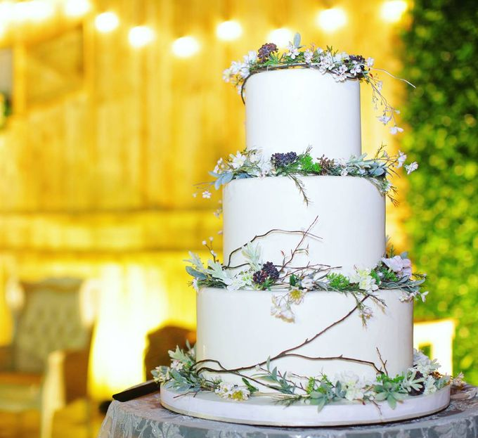 The Wedding Of William & Maria by Amor Cake - 002