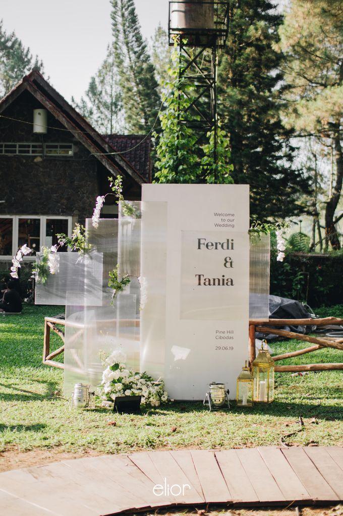 The Wedding Of Ferdi & Tania by Elior Design - 009